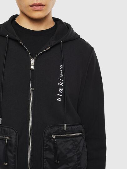 Diesel - S-SKRA, Black - Sweatshirts - Image 5
