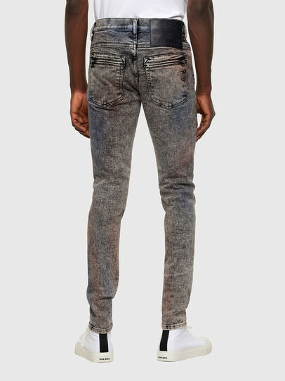 Diesel - D-Amny Skinny Jeans 009VG, Black/Dark Grey - Jeans - Image 2
