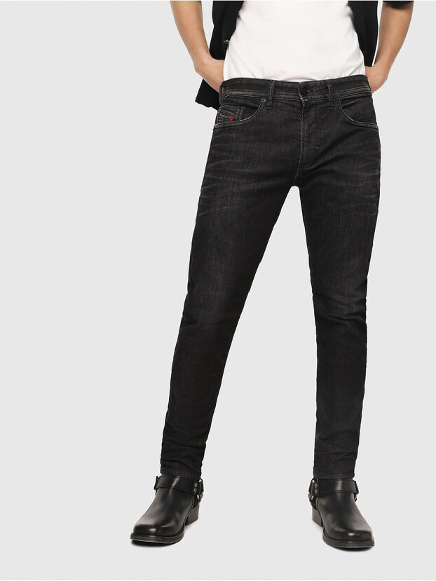 Thommer JoggJeans 0077U, Black/Dark Grey - Jeans