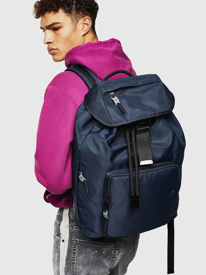 Diesel - RIESE, Dark Blue - Backpacks - Image 8