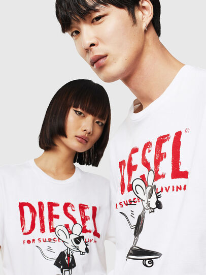Diesel - CL-T-DIEGO-1,  - T-Shirts - Image 4