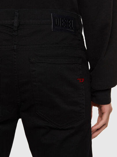 Diesel - D-Amny Skinny Jeans 069EI, Black/Dark Grey - Jeans - Image 4