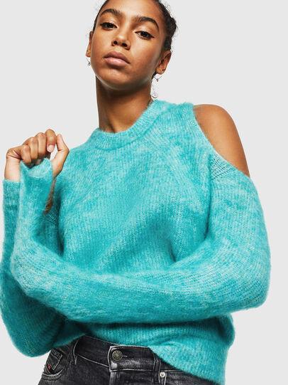 Diesel - M-LARA, Azure - Sweaters - Image 4