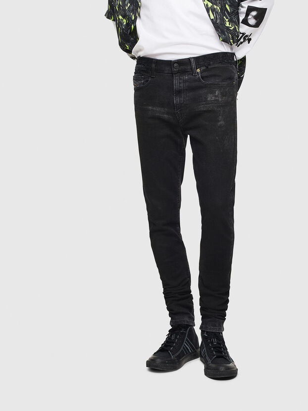 D-Amny 009CE, Black/Dark Grey - Jeans
