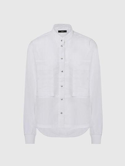 Diesel - C-SUPER-E, Blanco - Camisas - Image 1