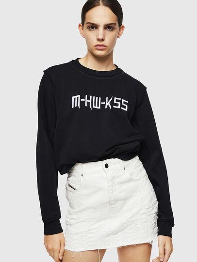 Diesel - F-LYANY-H, Black - Sweatshirts - Image 4