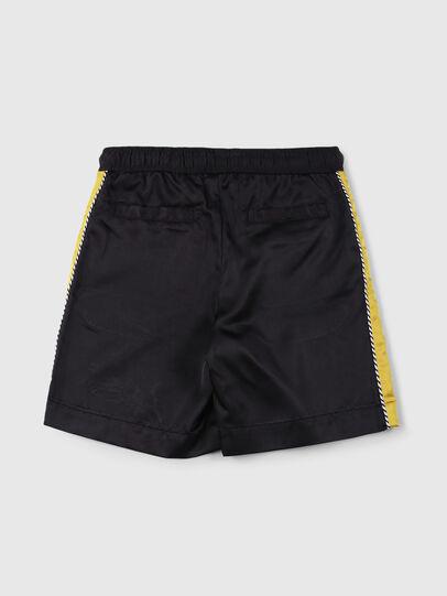 Diesel - PDOO, Black/Yellow - Shorts - Image 2
