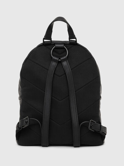 Diesel - LE-ZIPPER BACKPACK, Black - Backpacks - Image 2