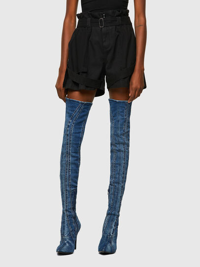 Diesel - S-FEDRA-A, Black - Shorts - Image 1