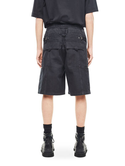 Diesel - PHILOS, Black - Shorts - Image 2