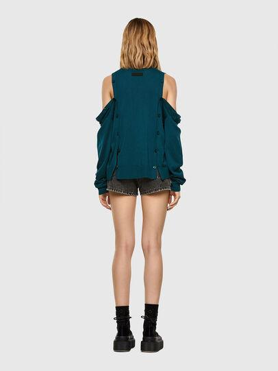 Diesel - M-MIRANDA, Water Green - Sweaters - Image 7