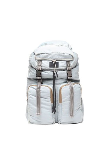 Backpack in recycled nylon