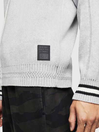 Diesel - K-BOX, Light Grey - Sweaters - Image 5