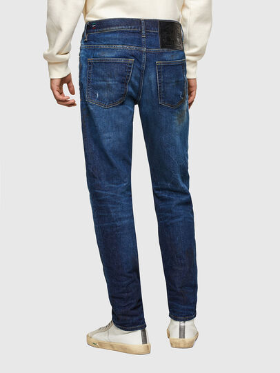 Diesel - D-Fining Tapered Jeans 009NG, Dark Blue - Jeans - Image 2