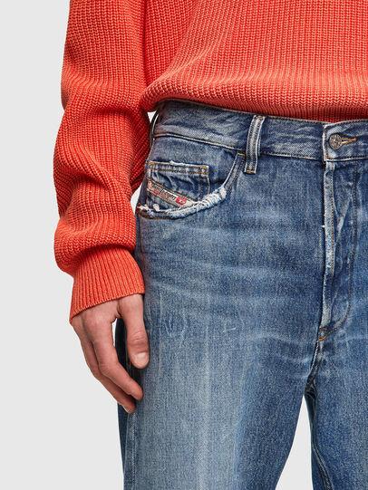 Diesel - D-Macs Straight Jeans 09A25, Medium Blue - Jeans - Image 4
