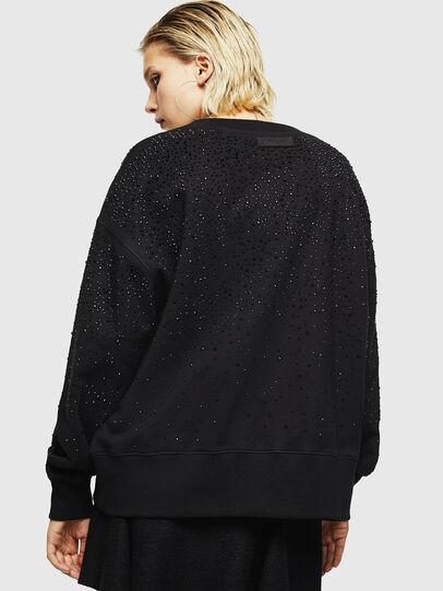 Diesel - F-MAGDA-D, Black - Sweatshirts - Image 2