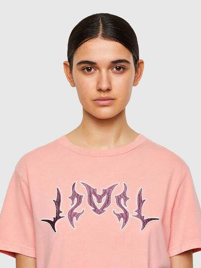 Diesel - T-DARIA-A3, Pink - T-Shirts - Image 4