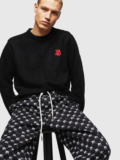 Diesel - K-CASY, Black - Sweaters - Image 4