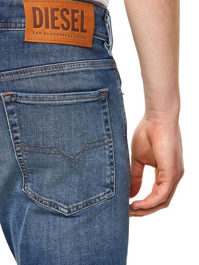 Diesel - Sleenker Skinny Jeans 09A60, Medium Blue - Jeans - Image 4