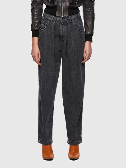 Diesel - D-Concias Boyfriend Jeans 09A69, Black/Dark Grey - Jeans - Image 1