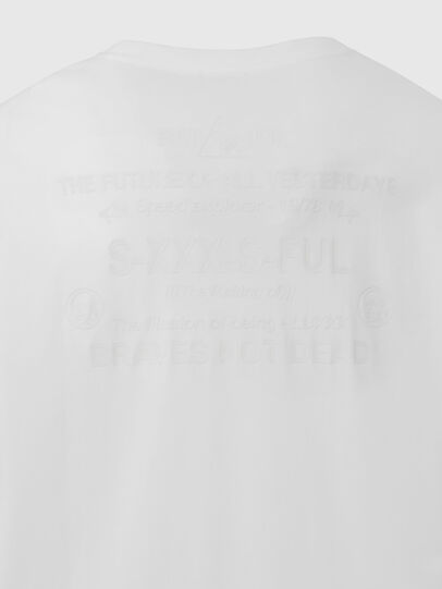 Diesel - T-JUST-LS-X91, White - T-Shirts - Image 5
