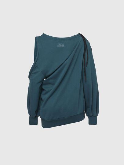 Diesel - F-REVERT, Water Green - Sweatshirts - Image 2