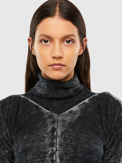 Diesel - M-ISABELLE, Black - Sweaters - Image 4