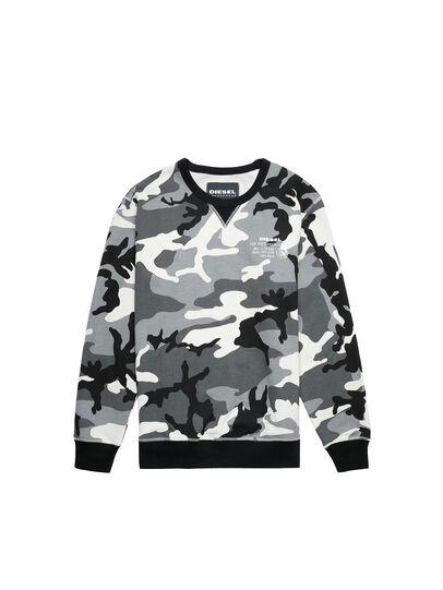 Diesel - UMLT-WILLY, Grey/Black - Sweatshirts - Image 1