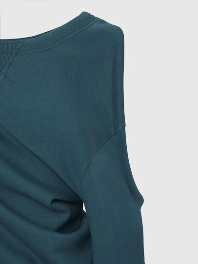 Diesel - F-REVERT, Water Green - Sweatshirts - Image 4