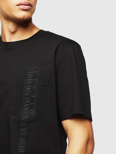 Diesel - T-JUST-POCKET-J1, Black - T-Shirts - Image 3