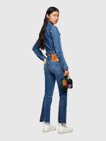 Diesel - D-Earlie Bootcut Jeans 009NP, Medium Blue - Jeans - Image 6