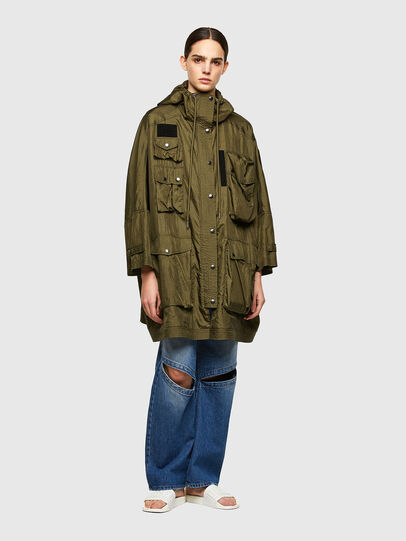 Diesel - G-NEVA, Olive Green - Jackets - Image 6