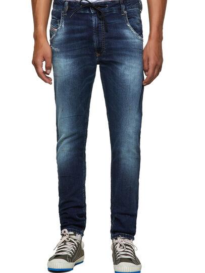 Diesel - Krooley Tapered JoggJeans® 069YF, Dark Blue - Jeans - Image 1