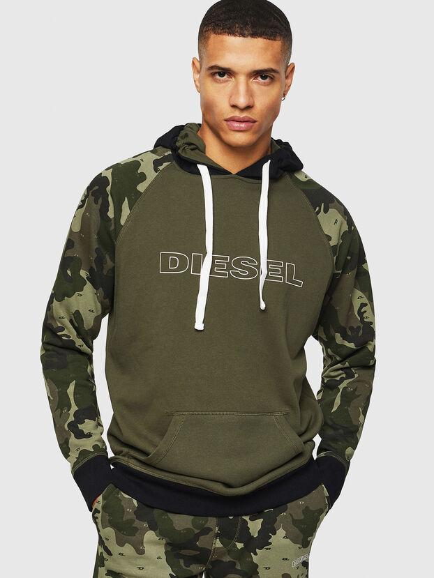 UMLT-BRIAN, Green Camouflage - Sweatshirts