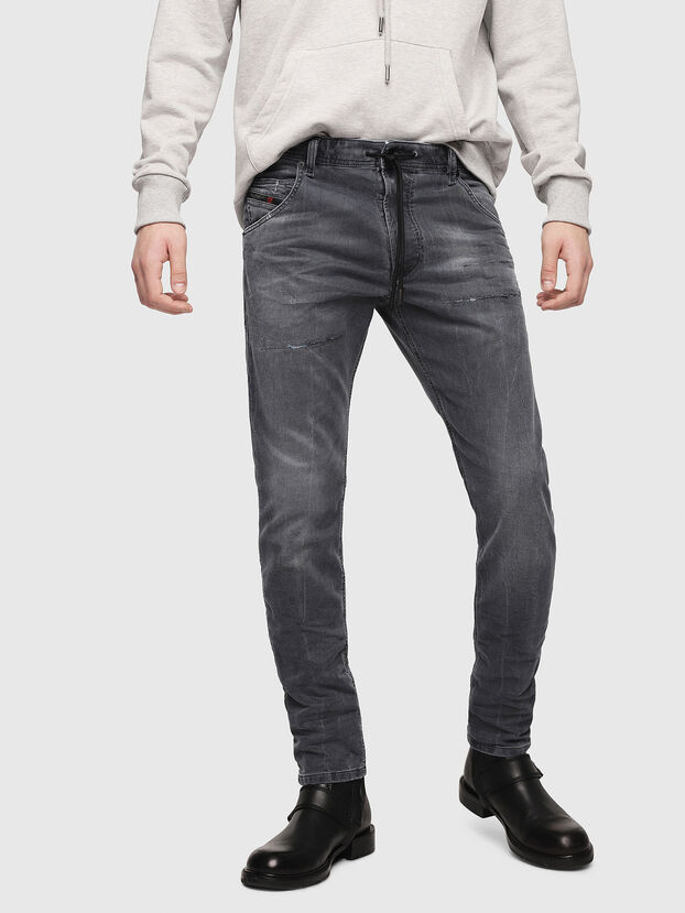 Krooley JoggJeans 069EP, Black/Dark Grey - Jeans