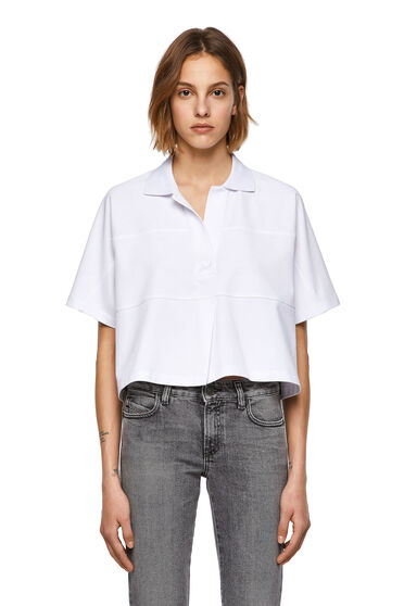 Green Label top with pleat