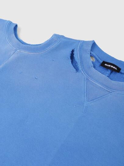 Diesel - SFADAM MC, Azure - Sweatshirts - Image 3