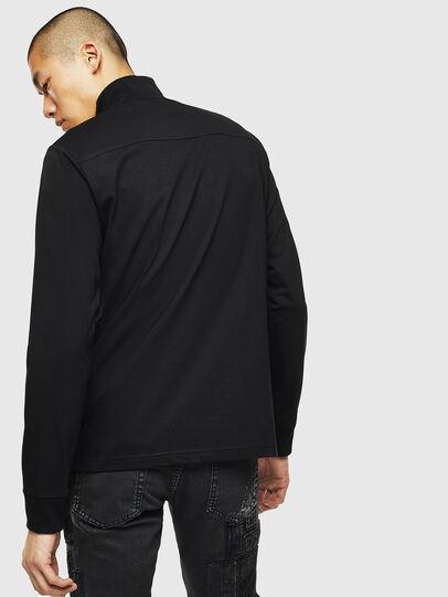Diesel - T-DIEGO-LS-DOLCE, Black - T-Shirts - Image 2