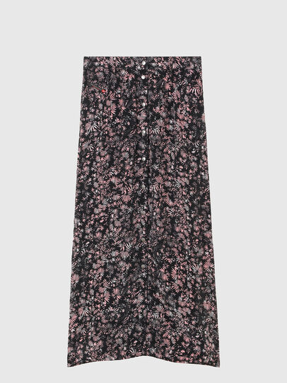 Diesel - O-PALMS, Black/Pink - Skirts - Image 5