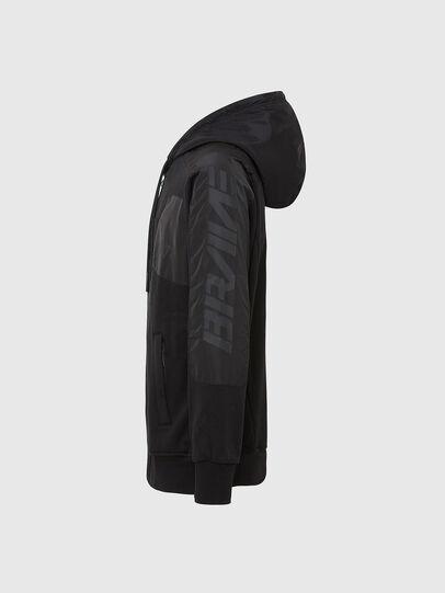 Diesel - S-JAKLER, Black - Sweatshirts - Image 3