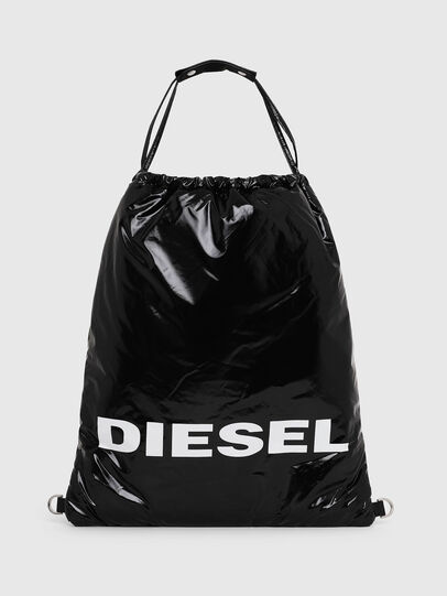 Diesel - F-THISBAG MONO, Black - Backpacks - Image 1