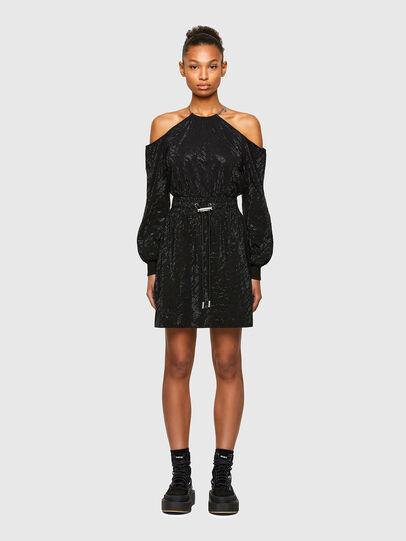 Diesel - D-ATENS, Black - Dresses - Image 1