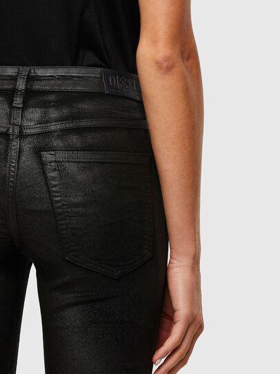 Diesel - Babhila Slim Jeans 069TD, Black/Dark Grey - Jeans - Image 4