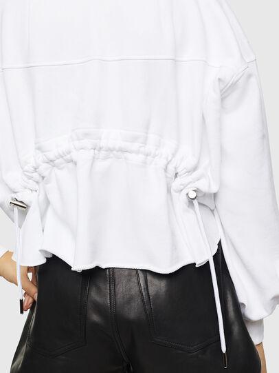 Diesel - F-MONDY, White - Sweatshirts - Image 5