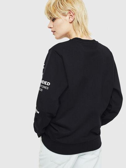 Diesel - S-GIRK-S1, Black - Sweatshirts - Image 4