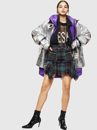 Diesel - O-BRYEL, Multicolor - Skirts - Image 6