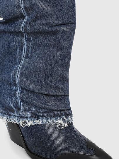 Diesel - D-WEST MB, Blue Jeans - Ankle Boots - Image 4