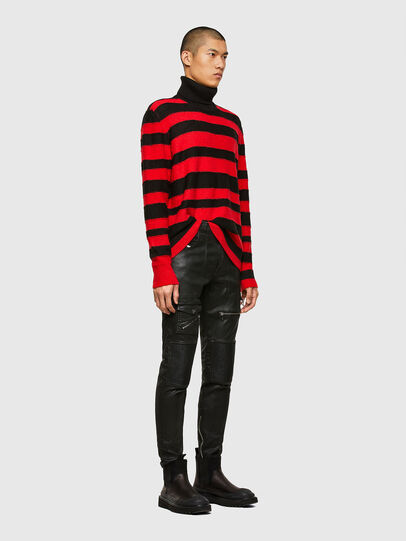 Diesel - K-BRENTON, Red/Black - Sweaters - Image 5