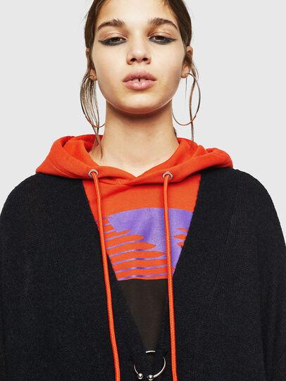 Diesel - M-SURI, Black/Red - Sweaters - Image 3