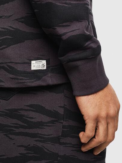 Diesel - UMLT-JIMMIES, Dark Grey - Sweatshirts - Image 4